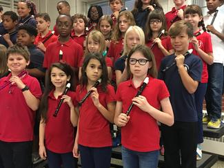 Fourth Grade Recorder Ensemble